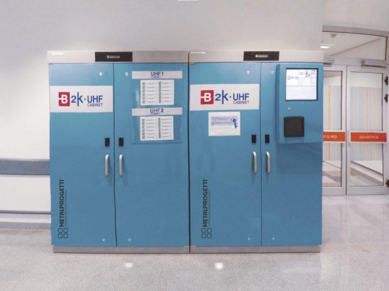 Distributore divise identificate con UHF