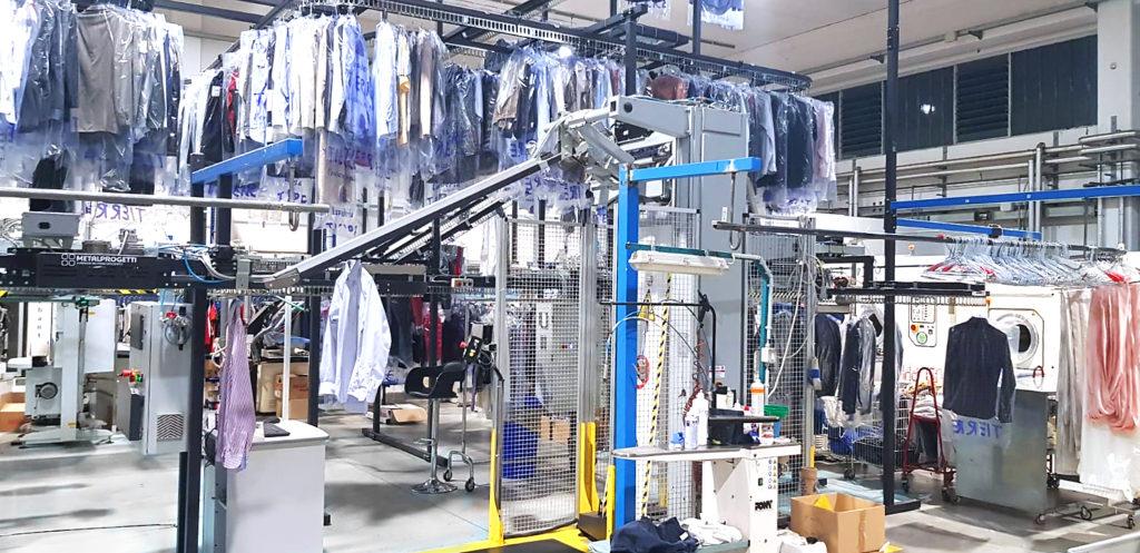 Automatischer Auswurf auf Verpackungsmaschine